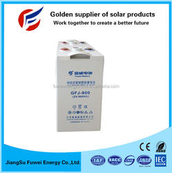 Low cost 3 years warranty 2V 800Ah UPS battery for Telecom UPS