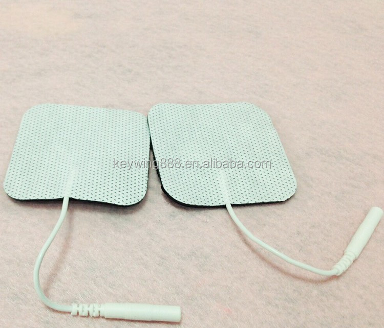 self adhesive silicone electrode for meridian treatment therapy