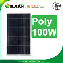 China best price Poly 100w PV Solar Panels for Solar Electric Car