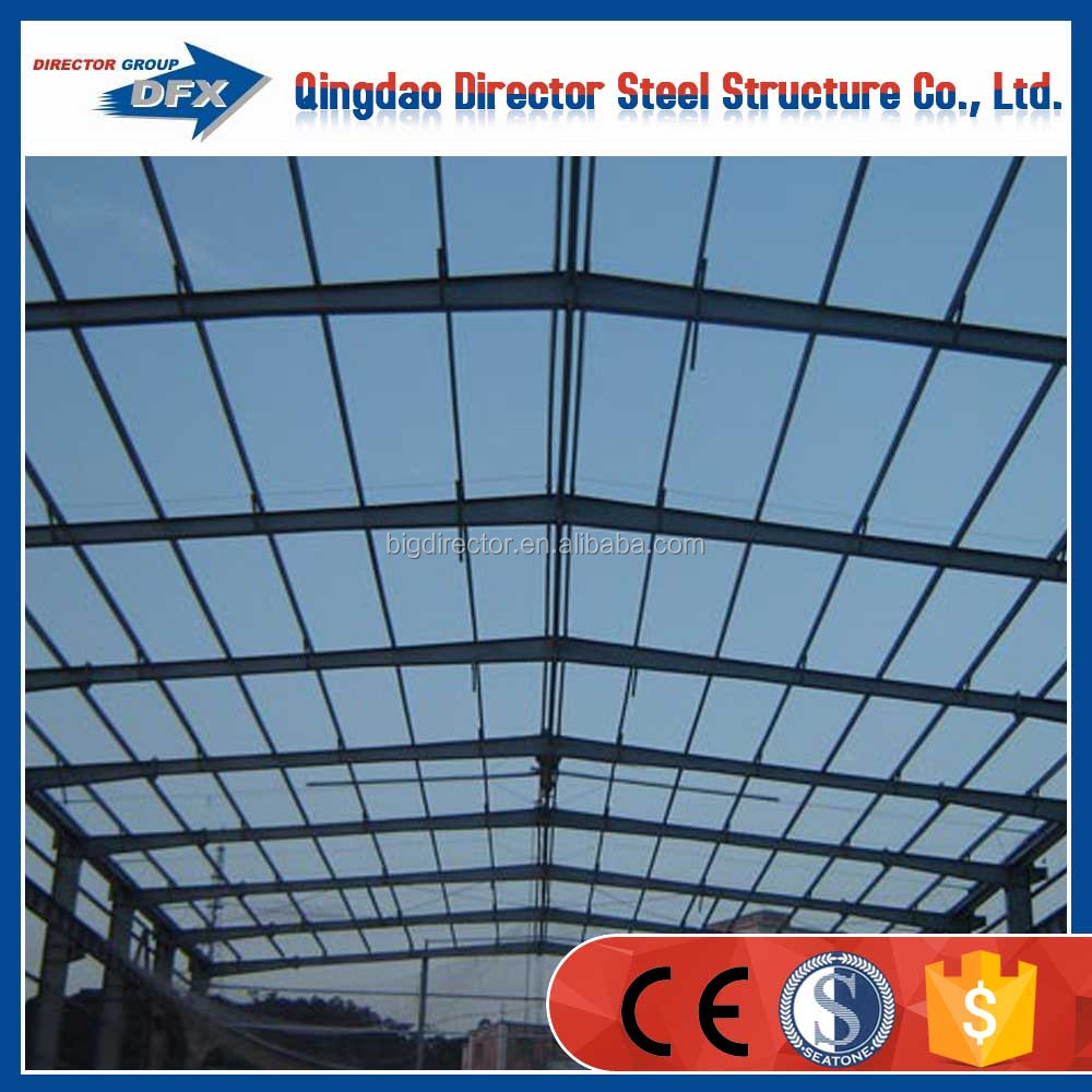 economic prefabricated factory plant fabricated steel structure factory