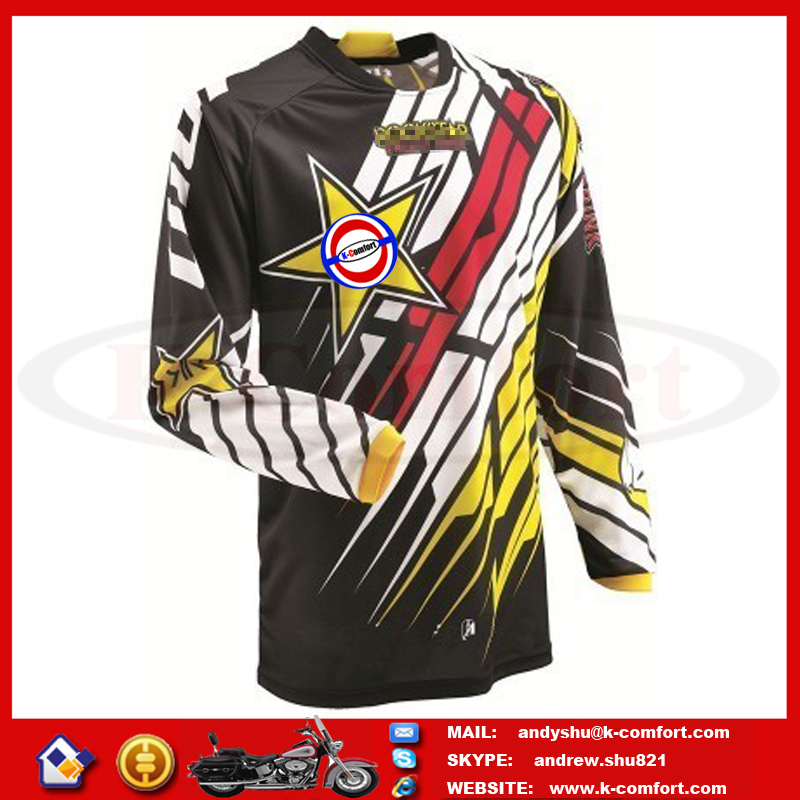 KFCOX35 High quality Motorcycle accessories Motorcross racing jersey Motorcycle sport jersey Motor sports wear for sale