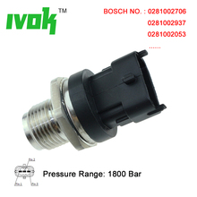1800 Bar 1800Bar Fuel Pressure Sensor Sender 0281002937 0281006425 0281006112 0281002851 For Chevrolet Iveco Mahindra