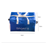 Small Water Resistant Travel Gym Sports Duffel Bag with Seperate Compartments