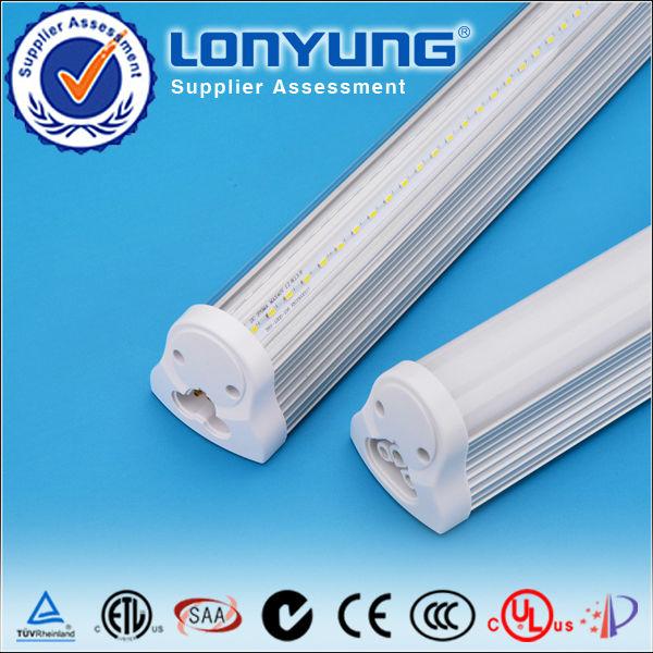 High lumen 240 degree wide beam angel tube bracket led fluorescent tube light t8