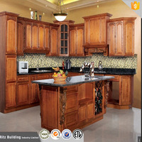 custom size rustic kitchen cabinets, wood french kitchen design