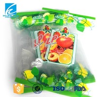 China custom printed heat seal food plastic bag pe ld