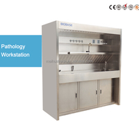 304 SS BIOBASE 6' Pathology Workstation, Full Stainless Steel Structure, Integrated Exhaust System