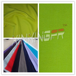 China supplier 260g NFPA 2112 flame retardant 100 cotton fabric for clothes