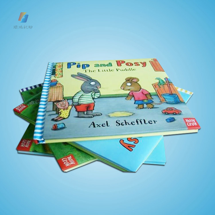 Wholesale children color printed story book factory printing