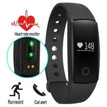 Smart band ID107 Heart Rate Monitor Smartband Fitness Sport Bracelet Pulsometer Smart Wristband For Apple ios Android