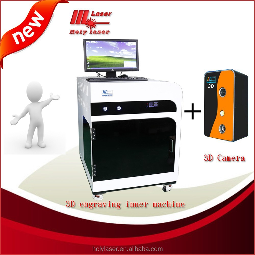 crystal engraving machine/ key chain, crystal gifts, souvenirs, 2D&3D photo etc./ /holy laser