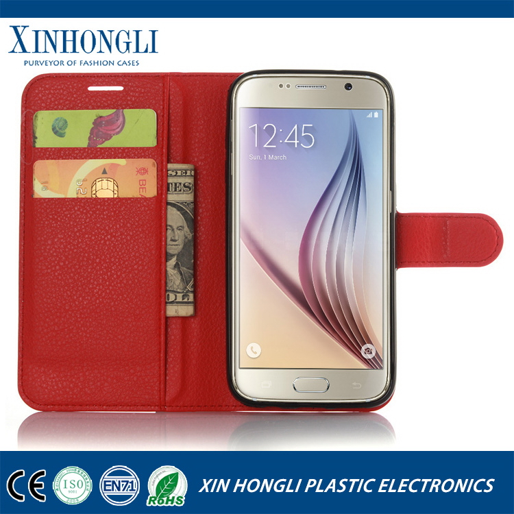 2016 OEM pattern leather case for samsung s7