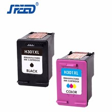 High Yield Ink For HP 61 301 122 Ink Cartridge With German Ink