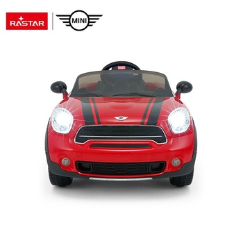 Rastar Hot Sale mini cooper licensed electric toys riding car for big kids