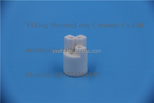99% Alumina ceramic shaft ceramic parts for furnace machinery ceramic spare parts