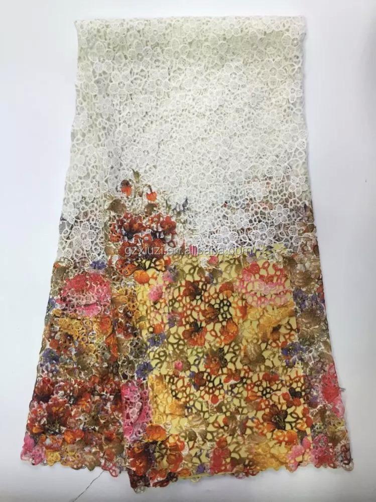 Guangzhou fabric market multi color dress lace 2015 hot for Guangzhou wedding dress market