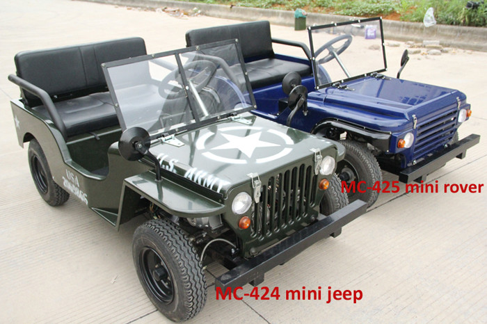 NEW 125CC MINI JEEP WILLYS JEEP (MC-425)