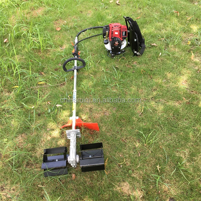 4 stroke gx35 multifunctional weeding machine brush cutter with weeding head