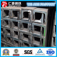 JIS Standard Hot Rolled Channel Steel / U beam / channel beam