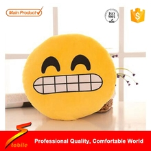 STABILE 2017 Professional High quality custom cute vegetable shape plush fabric emoji cushion pillow with great price