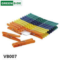 VB007 laundry pegs plastic flexible clips for clothing