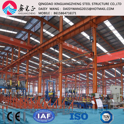 prefabricated steel building for factory work