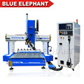 High Quality 4 Axis 1212 Automatic 3d Woodworking Wood Carving Cnc Router Machine