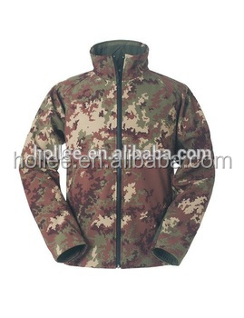 Breathable Windproof Camouflage Softshell Jacket