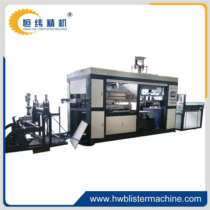 Yiyou manual ps foam food container thermoforming machine for discount