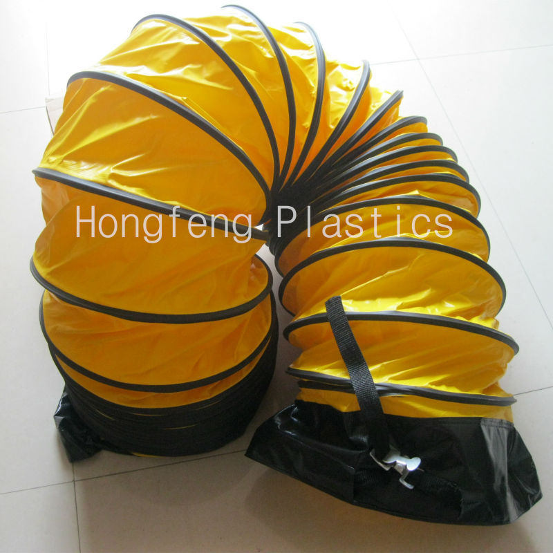fire retardant PVC air duct blower hose