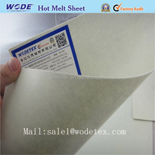 Hot melt adhesive eco-friendly toe puff and counter