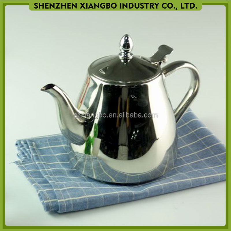 Many sizes stainless steel antique metal teapots LQ-42