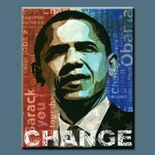 high quality handmade famous portrait paintings of men Obama portrait