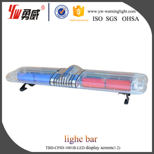 Halogen security emergency warning lightbar revolving lights