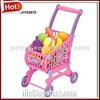 Vegetable pretend toys baby shopping cart toy