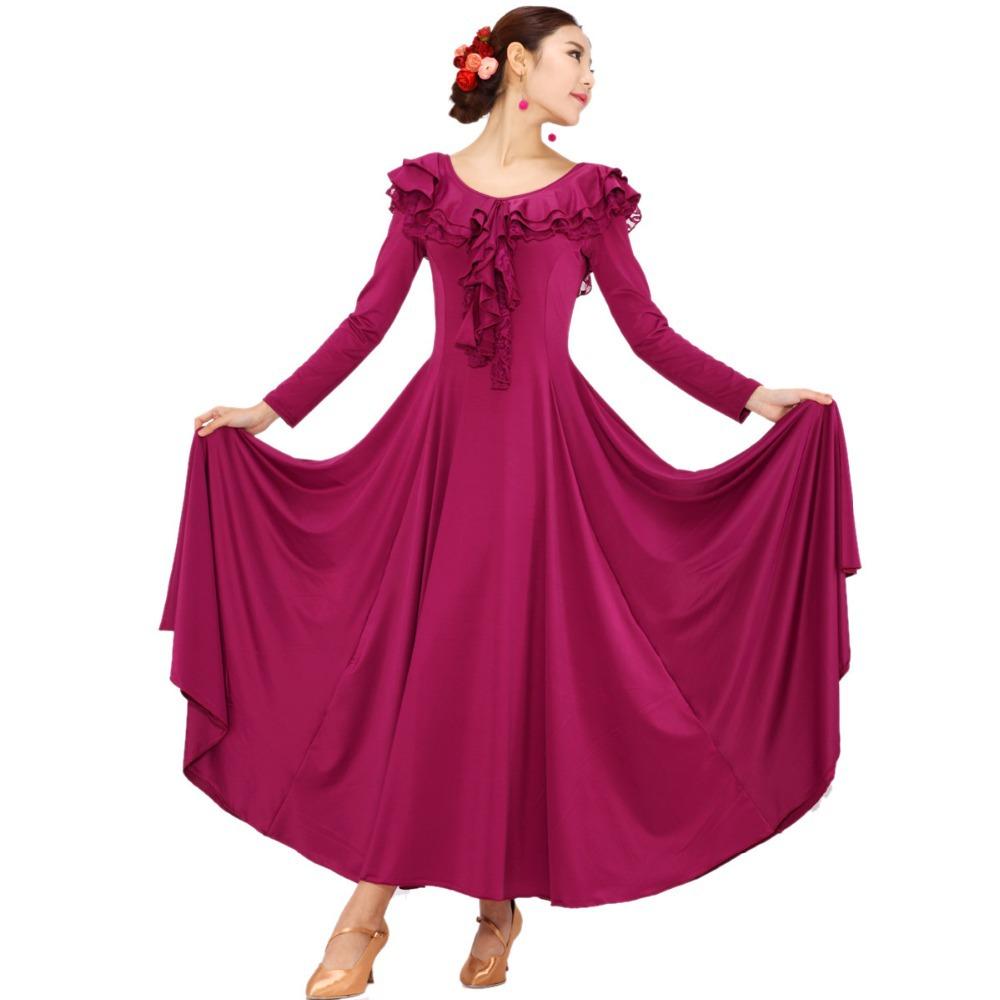 d81865072 Cheap Purple Ballroom Dress