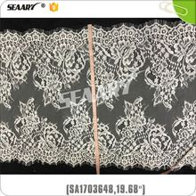 high quality african embroidery fashion 100% cotton lace textile fabric for garment