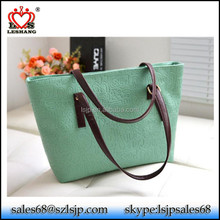 China high quality PU leather women handbag, messenger bag
