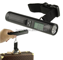 Cheap Import Electronics Hanging Weigh Scale Digital Luggage Scale with Flashlight