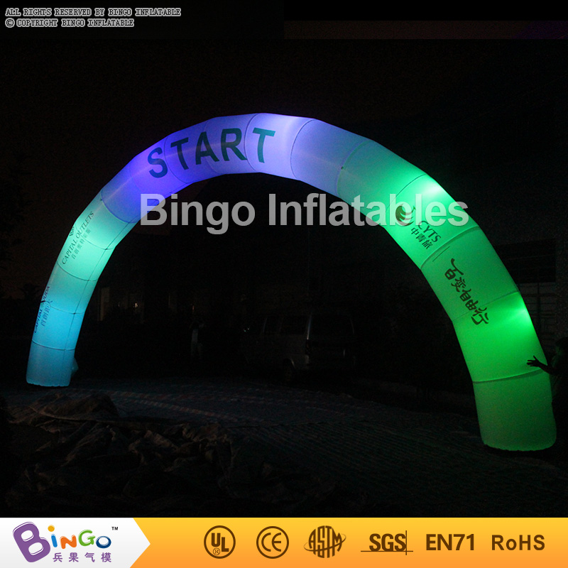 Promotional Lighted LED Glow Inflatable Arch