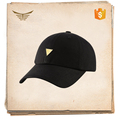 fashion blank black caps 100% polyester high quality wholesale custom baseball caps