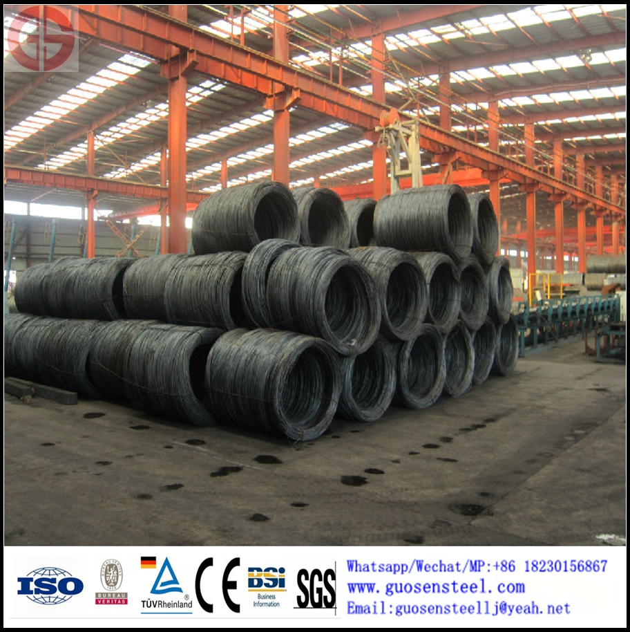 sae1008 wire rod 5.5-12mm actual weight short deliver time