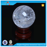 Beautiful rutilated quartz crystal ball / sphere For Smashing Price