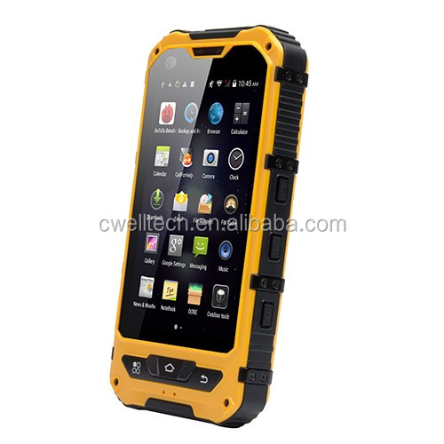 ALPS A8+ 4.0 Inch Quad core IP68 waterproof cheap nfc mobile phone android 4.4 3000mah battery rugged smartphone