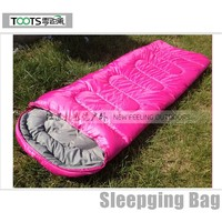 Human body Double Rectangular Sleeping Bags
