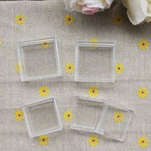 1.7*3.1CM Small Clear Plastic Square Box/Case/Container