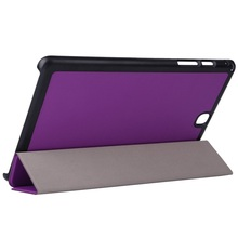 flap cover for Samsung tab A 9.7 inch tablet, smart magnetic PU leather case for tablet pc