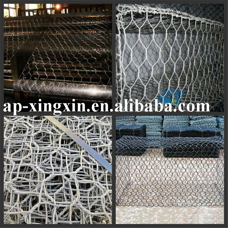high quality home depot galvanized polyester weaved net hexagonal