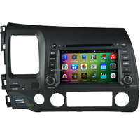 "OEM A9 Quad core Pure Android 5.1.1 HD 1024*600 16GB Mirror-Link 7"" Car DVD Player GPS Stereo Radio For Honda CIVIC 2006-2011"
