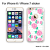 Low price and high quality anti scratch mobile phone sticker for iphone cover 7 sticker